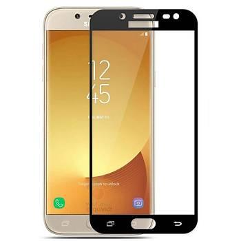 Piili 5D Tüm Yüzey Samsung Galaxy J3 Pro Cam Ekran Koruyucu Siyah
