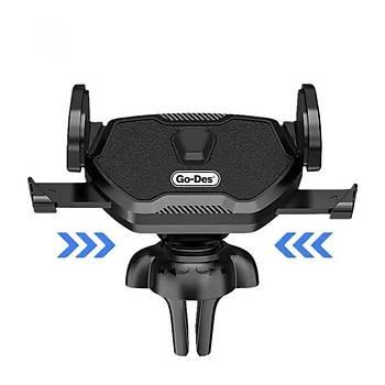 Go Des GD-HD655 Robotic Serisi Araç Ýçi Telefon Tutucu Siyah