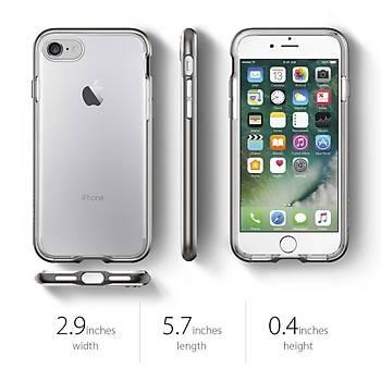 Spigen Neo Hybrid Crystal iPhone 7 / iPhone 8 Kýlýf Gun Metal