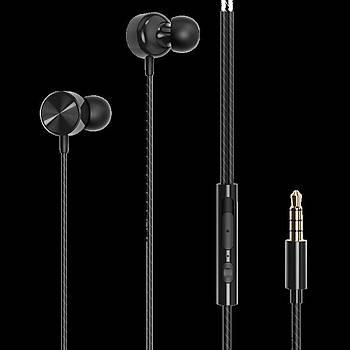 Wiwu Earbuds 102 3.5mm Kulak Ýçi Kulaklýk Siyah