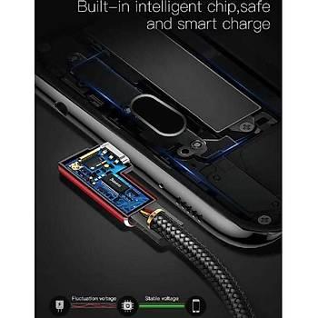 Baseus Mvp Elbow 2A Micro Usb Data Þarj Kablosu 1 Metre Siyah