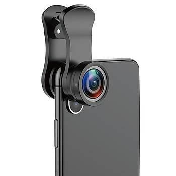 Baseus Short Serisi Sihirli Tüm Telefonlara Uyumlu Video ve Camera Optiði -  Siyah