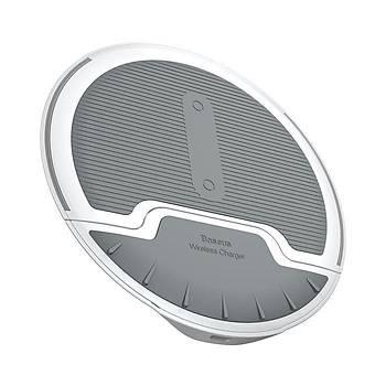 Baseus Foldable Multifonksiyon Wireless Hýzlý Þarj Cihazý Beyaz