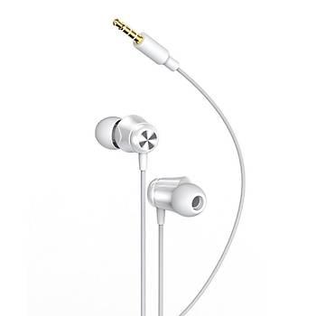 Baseus Encok Kablolu Kulaklýk H13 Beyaz