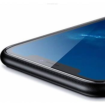 Benks Apple iPhone Xs Kýlýf Weavelt Tpu Hasýr Silikon Kýrmýzý