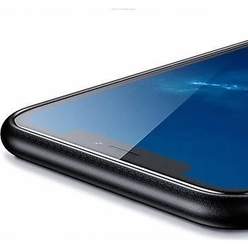 Benks Apple iPhone Xs Kýlýf Weavelt Tpu Hasýr Silikon Lacivert