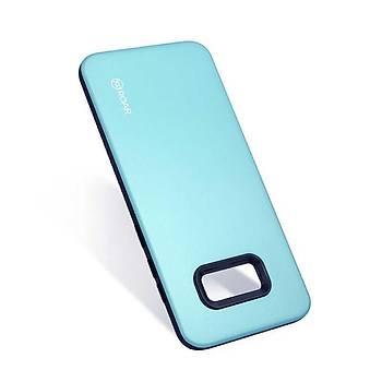 Roar Galaxy S8 Kýlýýf Rico Hybrid Case Turquoýse