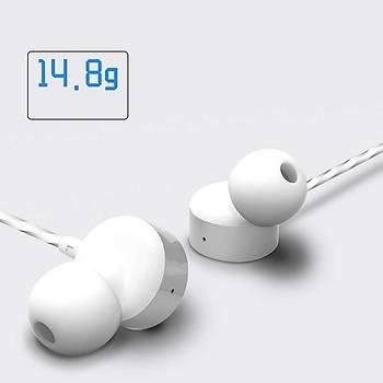 Wiwu Earbuds 102 3.5mm Kulak Ýçi Kulaklýk Beyaz