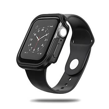 Wiwu Defense Apple Watch 44mm Darbe Emici Kýlýf Siyah