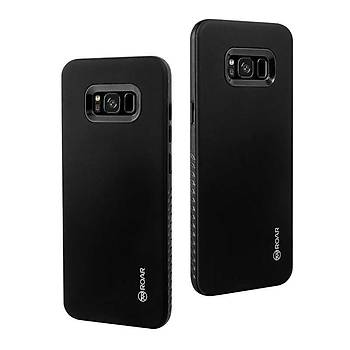Roar Galaxy S8 Plus Kýlýf Rico Hybrid Case Black