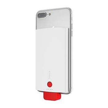 Baseus New Energy Backpack Powerbank 4000 mAh Kýlýf Kýrmýzý/Beyaz