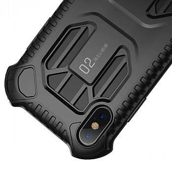 Baseus Cold Front Cooling iPhone XS Max Darbeye Dayanýklý Kýlýf