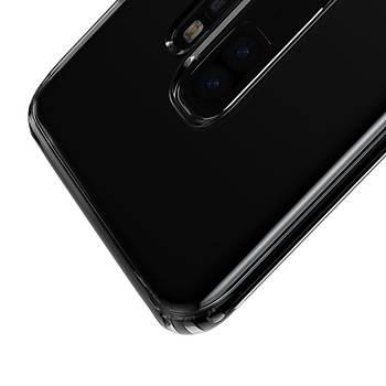 Baseus Simple Samsung Galaxy S9 Plus Transparan Kýlýf Siyah