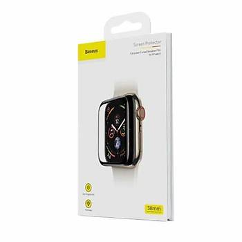 Apple Watch 38mm Baseus 0.23mm Curved Tamperli Cam Ekran Koruyucu