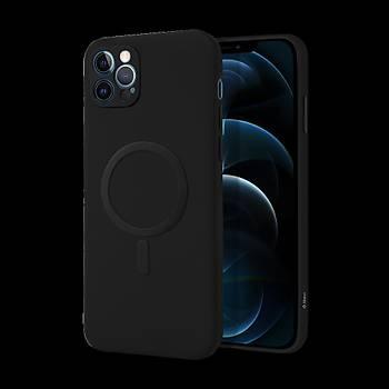 TTEC SuperSlim Magsafe Ýphone 12 Pro Max Uyumlu Koruma Kýlýf Siyah