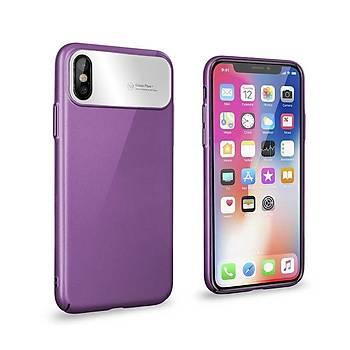 Roar Apple iPhone XS Max 6.5 Air Hard Back Cover Kýlýf Purple