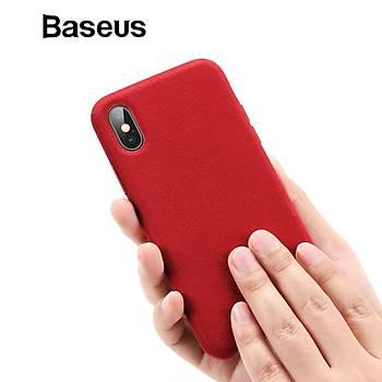 Baseus Original Super Fiber Kýlýf iPX/XS 5.8inch Red