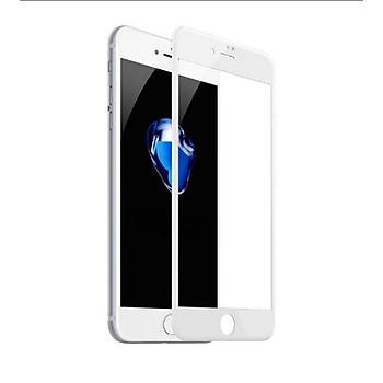 Lito 3D Full Cover iPhone 6 / 6S Cam Ekran Koruyucu Ön / Beyaz