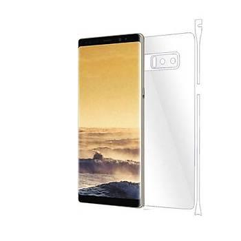 Piili Samsung Galaxy Note 8 TPU Arka ve Yan Yüz Koruyucu Film