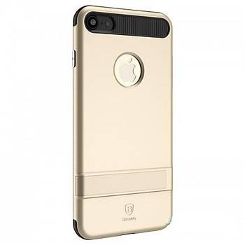 Baseus iBracket Serisi iPhone 7 Plus Gizli Standlý Kýlýf Gold