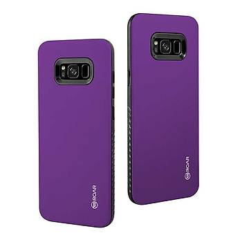 Roar Galaxy S8 Plus Kýlýf Rico Hybrid Case Purple