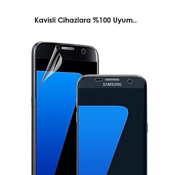 Piili 4D Full Screen 4 Katmanlý Galaxy S7 Edge Ekran Koruyucu