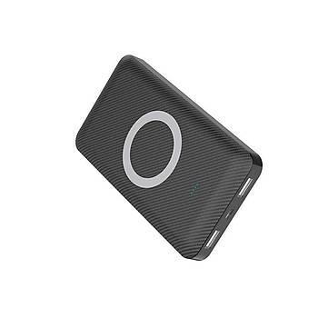 Xipin WS-T33 10000 Mah Wireless Çift USB li Powerbank Black