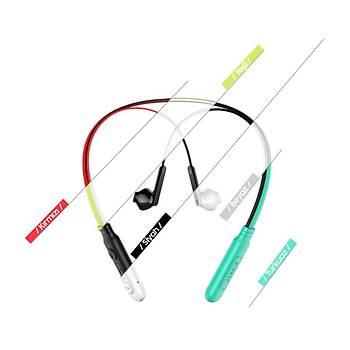 Baseus Encok Neck Hung Bluetooth Kulaklýk Beyaz