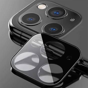 Benks Apple iPhone 11 Pro ve Pro Max Kamera Lens Koruyucu Siyah