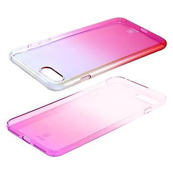 Baseus iPhone 7 Plus / 8 Plus Glaze Ultra Slim Kýlýf Pembe