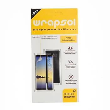Wrapsol Samsung Note 9 Ön & Arka Darbe Önleyici Ekran Koruyucu