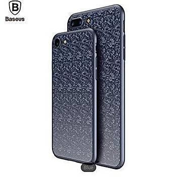 Baseus Plaid Serisi iPhone 7 Plus / iPhone 8 Plus Kýlýf Lacivert