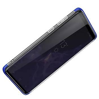 Baseus Armor Samsung Galaxy S9 Darbeye Dayanýklý Kýlýf Mavi