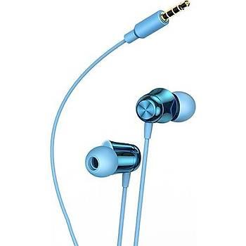 Baseus Encok Kablolu Kulaklýk H13 Mavi