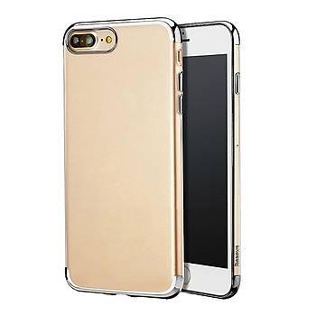 Baseus Shining iPhone 7 Plus/8 Plus Kenar Korumalý Tpu Kýlýf