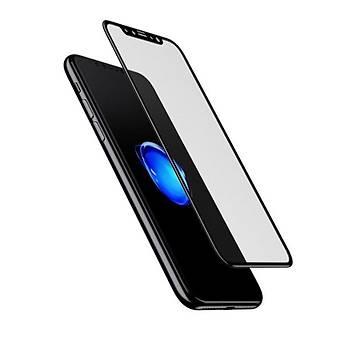 Baseus iPhone X/XS 5.8 0,25mm Cam Ekran Koruyucu Mat
