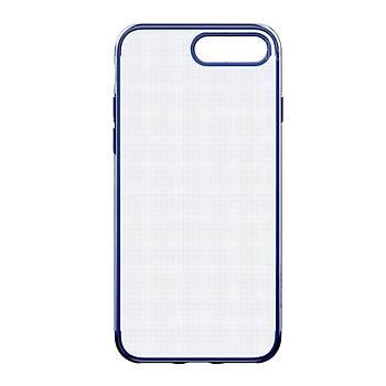 Baseus Shining iPhone 7 Plus/8 Plus Kenar Korumalý Tpu Kýlýf Koyu