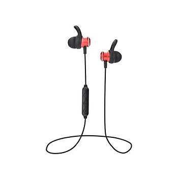 Zore BT-ZR1 King Serisi Bluetooth Kulak Ýçi Kulaklýk Kýrmýzý
