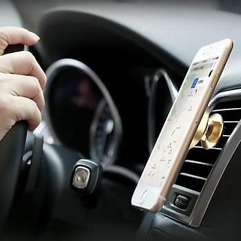 Baseus Small Ears Air Outlet Evrensel Manyetik Telefon Tutucu