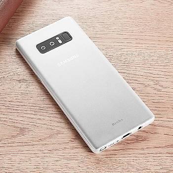 Benks Lollipop Protective Galaxy Note 8 Ultra Ýnce Kýlýf White