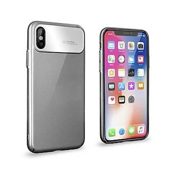 Roar Apple iPhone XS Max 6.5 Air Hard Back Cover Kýlýf Grey
