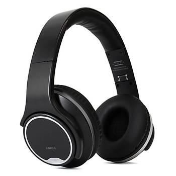 Hiper Unýque Bass B-50 Mikrofonlu Bluetooth Kulaküstü Kulaklýk + Hoparlör