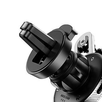 Baseus Lihtning Kablolu Araç Ýçi Telefon Tutucu Siyah