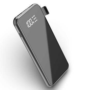 Wiwu W1 PD 8000 Mah Wireless Özellikli Standlý Powerbank Mavi