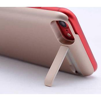 Rohs External Ýphone 6-7-8 Standlý Þarjlý Kýlýf Gold