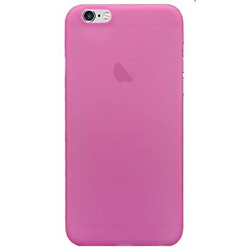 AntDesign iPhone 6 / iPhone 6S 0.3mm Ultra Ýnce Kýlýf Pembe