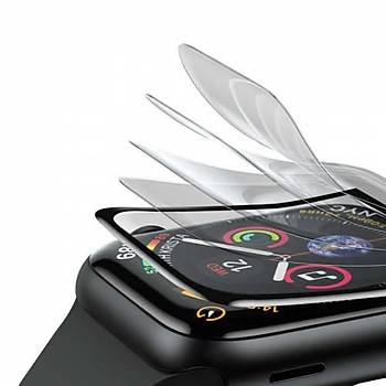 Apple Watch 42mm Baseus 0.23mm Curved Tamperli Ekran Cam Koruyucu