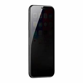 Baseus iPhone XR 6.1 Sert Kenarlý Eðimli 0.3mm Cam Ekran Koruyucu