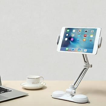 Baseus Lazy Bracket 360 Derece Masaüstü Telefon Tablet Tutucu