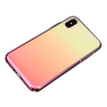 KingCase iPhone XS 5.8 quot; / iPhone X Kýlýf Renk Geçiþli Kýlýf